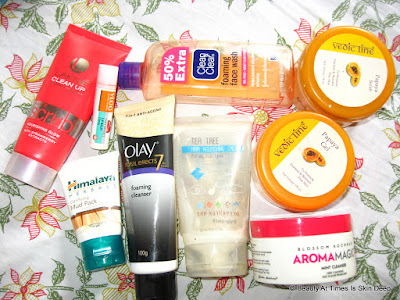 Beauty empties July