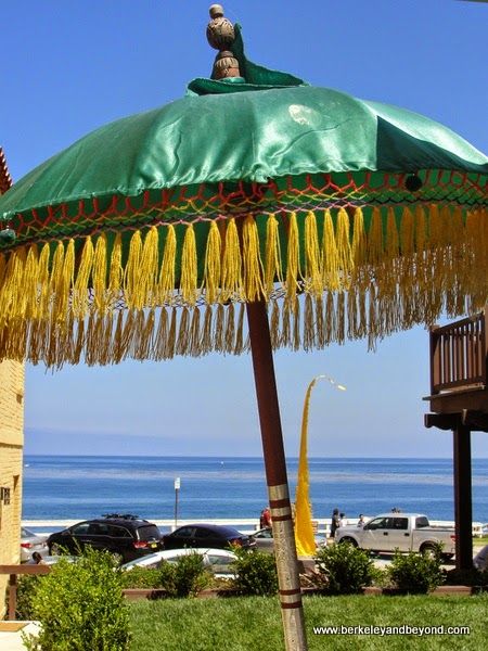view of ocean from Pantai Inn in La Jolla, California