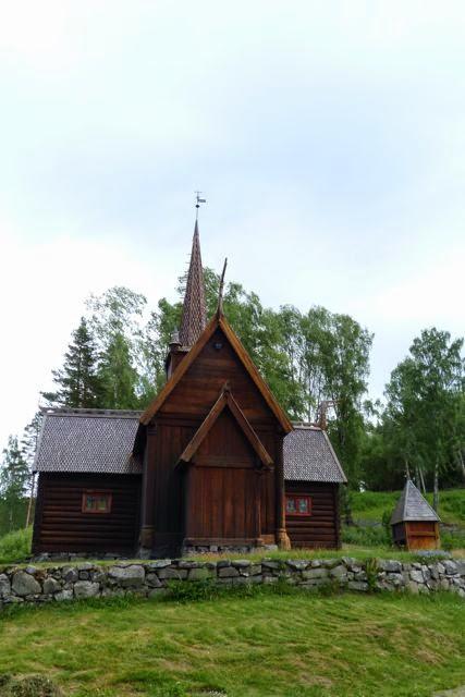 staafkerkje openluchtmuseum Lillehammer