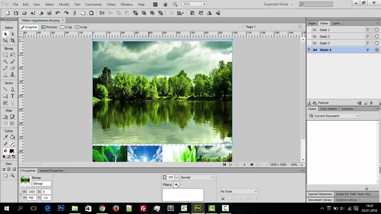 Adobe Fireworks CS6 download trial