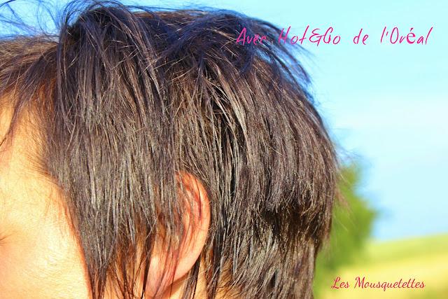 Avec l'application du Hot&Go de L'Oréal - Les Mousquetettes©