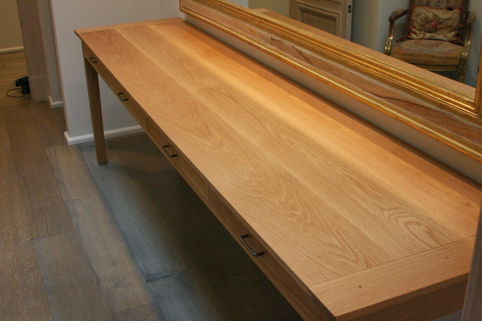 White Oak Kitchen Table