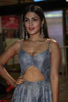 Rhea Chakraborty in a Sleeveless Deep neck Choli Dress Stunning Beauty at 64th Jio Filmfare Awards South ~  Exclusive 155.JPG