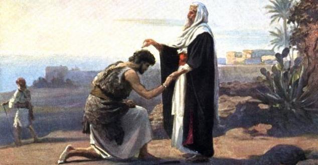 Samuel y Saul, importante en la monarquia hebrea
