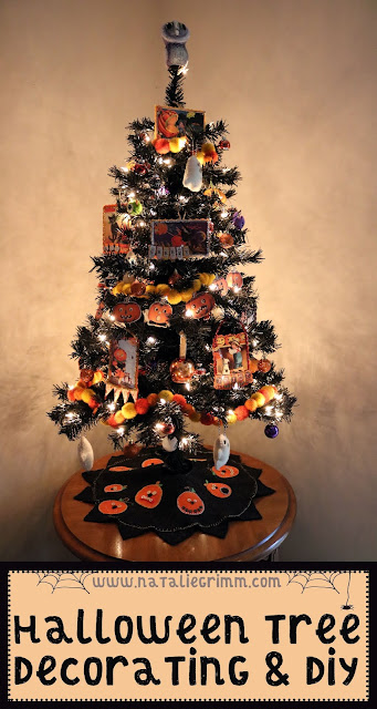 Halloween Tree Decorating