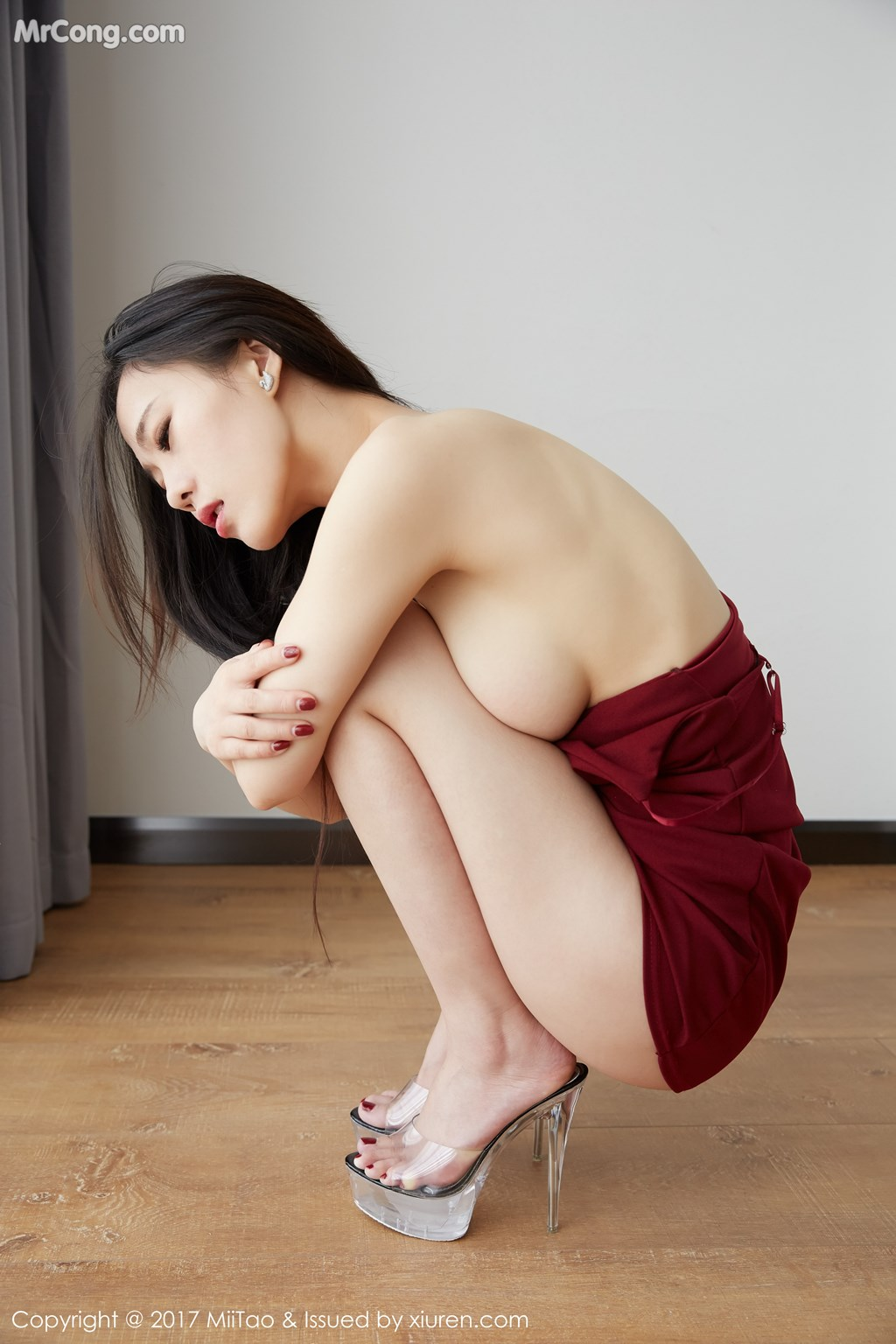 Image MiiTao-Vol.079-Yu-Wei-MrCong.com-014 in post MiiTao Vol.079: Người mẫu Yu Wei (雨薇) (54 ảnh)