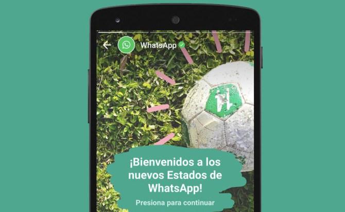 Solo los estados de WhatsApp ya superan a Snapchat en usuarios activos