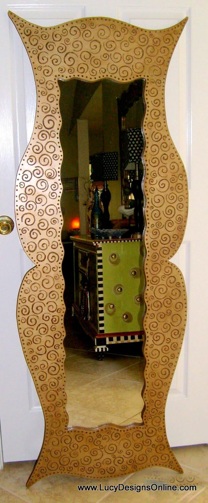 Handmade Mirrors Fish Mirrors Furniture Shaped Mirrors
