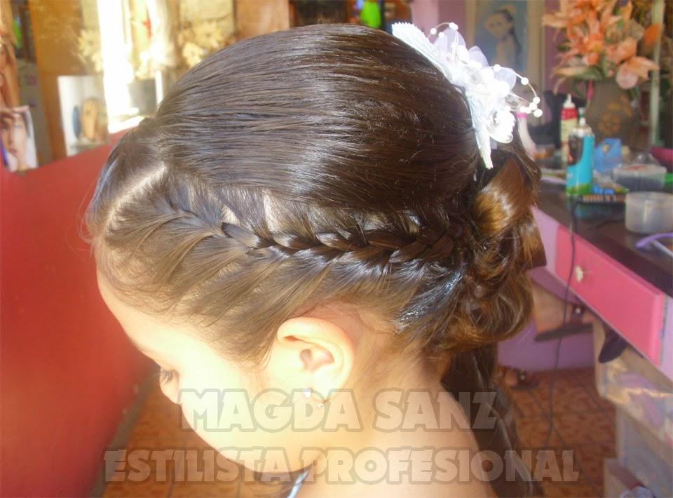 Peinados Para Bodas Y Xv Anos Peinados Para Ninas 1