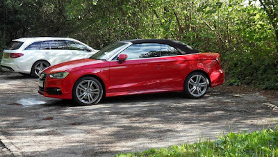 Red-Audi-A3-Cabrolet-S-Line-Side-2