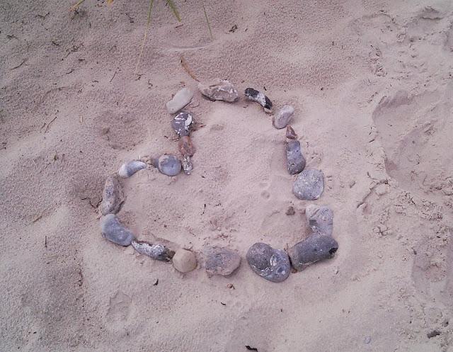 Perspektiven eines Küstenjungen (+ Verlosung): Das Herz im Sand finden die Küstenkinder auch schön.