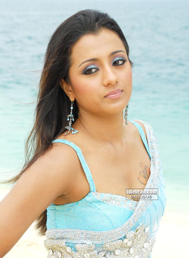 Tamil Actress Trisha Krishnan Bathroom Scandal Information -2547