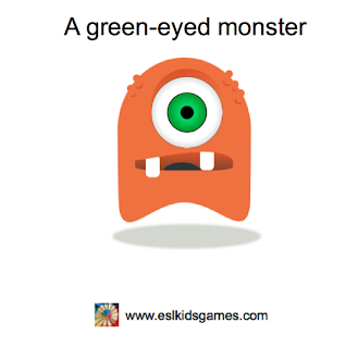 a green eyed monster idiom eslkidsgames.com
