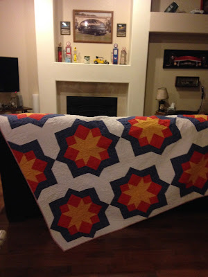 Midnight Mystery Quilt - Donated to Quilts of Valor