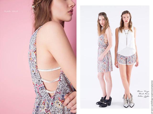 Moda vestidos verano 2017 La Cofradía ropa de mujer 2017.