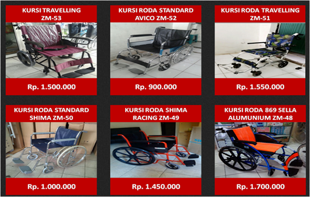 Kursi Roda Murah Di Jakarta