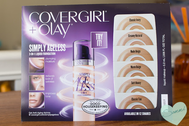 CoverGirl + Olay Simply Ageless 3-in-1 Foundation (sample)