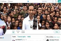 Twitter Presiden Jokowi yang Ngetweet Soal JKT48