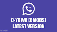 Download WhatsApp Mod C-YOWA (CMODS) v8.12 Latest Version Android