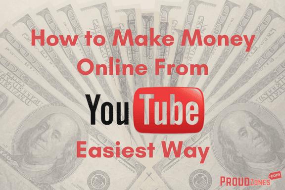 make money online from YouTube