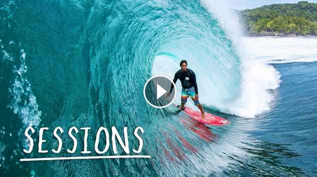 SURF SESSIONS Mikala Jones surfs the most remote beaches in Indonesia
