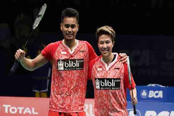 Owi Butet Juara Indonesia Open Ganda Campuran