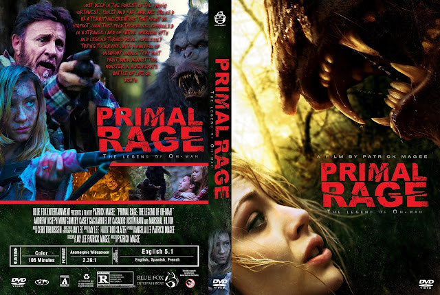 Primal Rage: The Legend of Oh-Mah DVD Cover