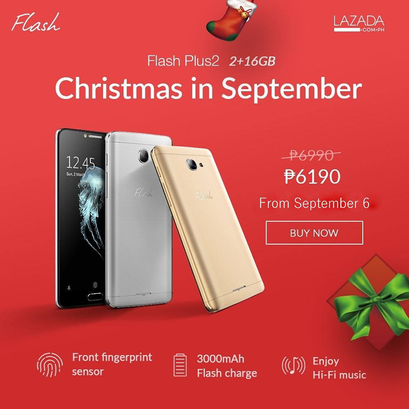 Flash Plus 2 Receives Another Price Cut, Down To 6190 Pesos Only!