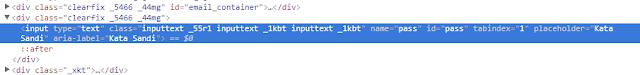 Bagaiman Cara Hack Password menggunakan Inspect Element HTML