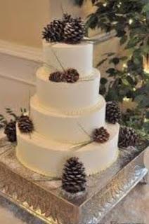 kue pengantin 4 lingkaran
