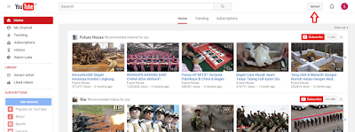 Cara Mudah Mengupload Video di Youtube Dengan Cepat