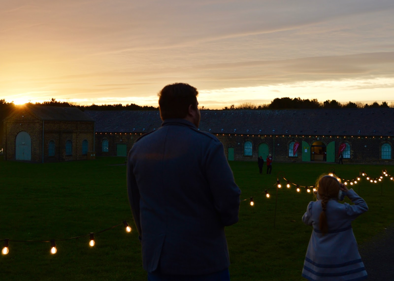 Frost of Forgetfulness | A FREE Winter Trail and activity at Woodhorn Museum in Northumberland (continues until 23rd December) - sunset