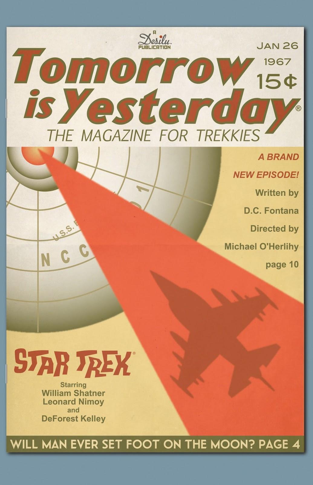 Star Trek: The Art of Juan Ortiz Yesterday