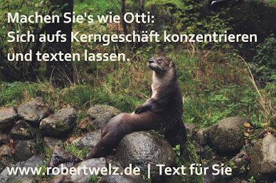 Werbetexte, SEO, Konzepte & Drehbücher für Corporate-Videos & TV - immer frisch aus Köln und Pulheim - von Texter + Autor Robert Welz