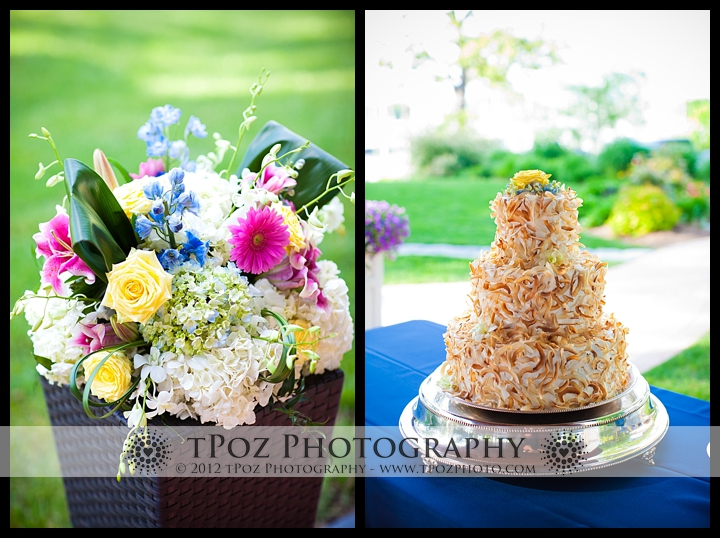 Wedding Cake Port Annapolis Marina Wedding