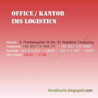 Kantor IMS di Tips Memilih Jasa Logistics Terpercaya Di Indonesia