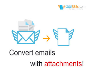 convert emails with attachments