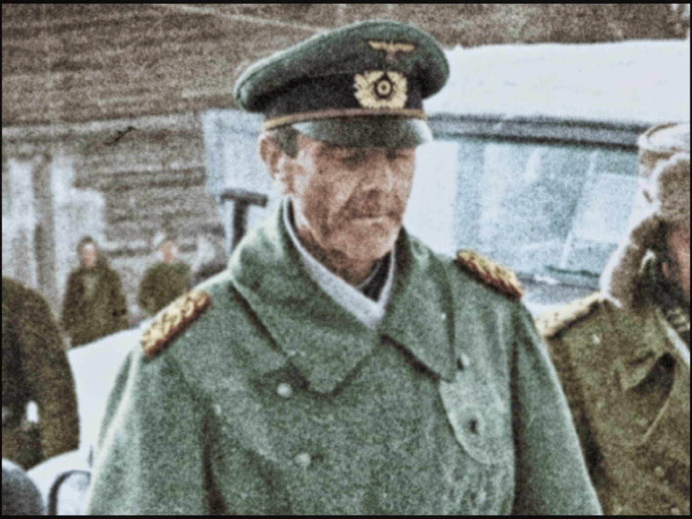 Generalfeldmarschall Friedrich Paulus surrenders to the Red Army
