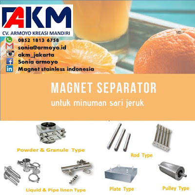 magnet separator jeruk