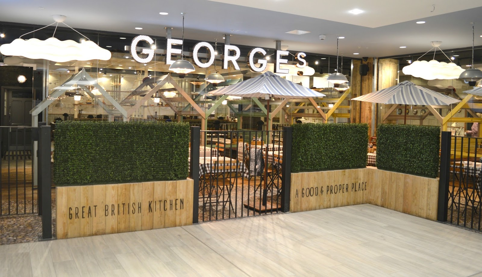 Intu Eldon Square: Grey's Quarter - George's Great British Kitchen