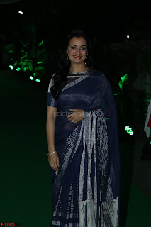 Dia Mirza in Sizzling Designer Saree at THE OLIVE CROWN AWARDS 2017 20.jpg