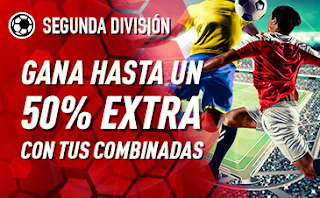 sportium Segunda División: Extra en Combinadas 17-18 noviembre