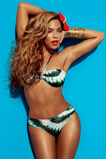 Green Bikini, Beyonce for H&M Summer Collection