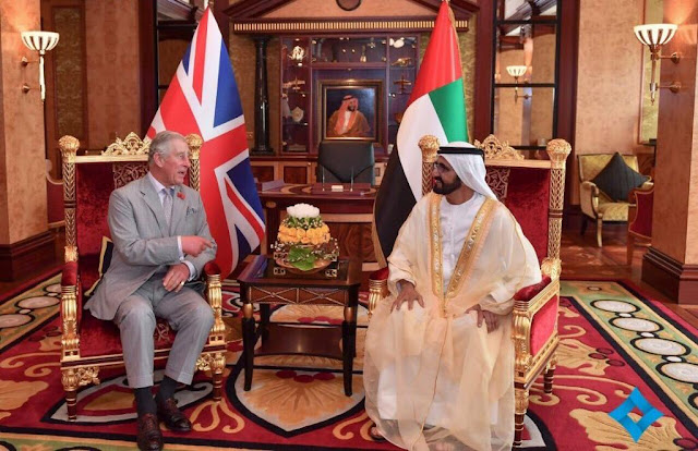 Today concluded Prince Charles' three-day tour of the UAE