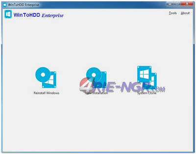 WinToHDD Enterprise 2.5 Full Terbaru