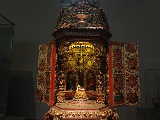 コロンビア国立博物館にある「イエス・キリストの祭壇」