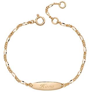 K18 Chain Bracelet for  Baby