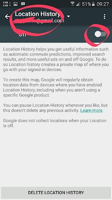 Matikan Location History