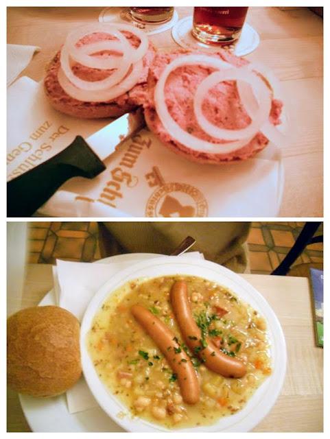 24 hours Düsseldorf Germany: Lunch at Hausbrauerei zum Schlüssel