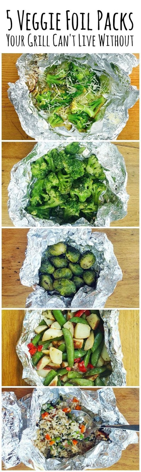 VEGGIE FOIL PACKS YOUR GRILL
